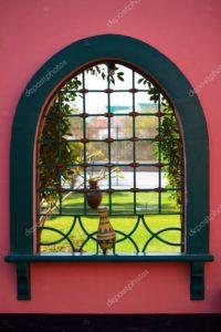 fenêtre de style orientale