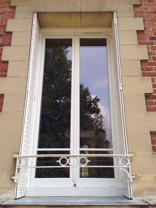 Fenêtre PVC vitrier paris 17