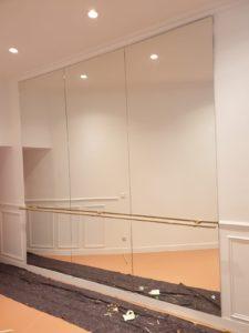 Miroirs salle de danse